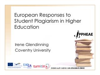 European Responses to Student Plagiarism in Higher Education