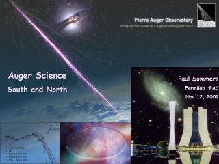 Paul Sommers Fermilab  PAC Nov 12, 2009