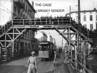 THE CAGE BY: RUTH MINSKY SENDER