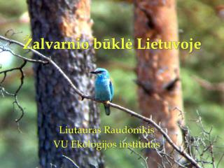 Žalvarnio būklė Lietuvoje