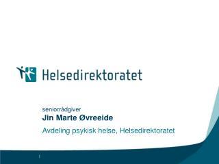 seniorrådgiver Jin Marte Øvreeide
