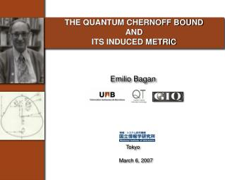 THE QUANTUM CHERNOFF BOUND AND  ITS INDUCED METRIC