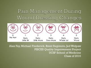 Pain Management During Wound Dressing Changes