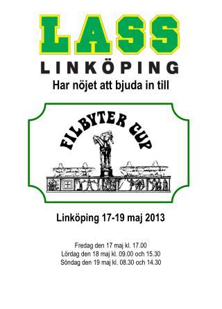 Link�ping 17-19 maj 2013