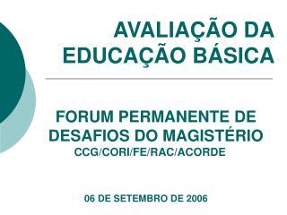 06 DE SETEMBRO DE 2006
