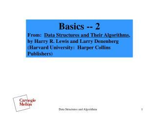 Basics -- 2