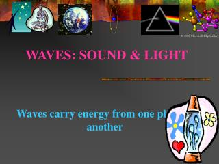 WAVES: SOUND  LIGHT