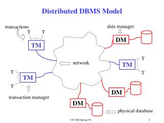 Distributed DBMS Model