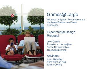 Games@Large