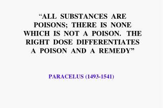 PARACELUS (1493-1541)