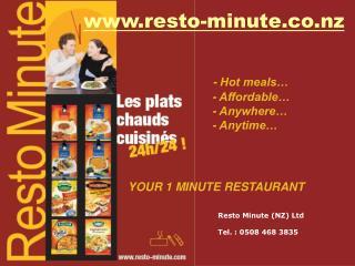 Resto-minute