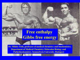 Free enthalpy Gibbs free energy