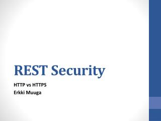 REST Security