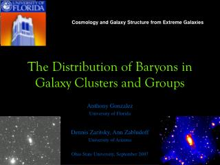 The Distribution of Baryons in Galaxy Clusters and Groups