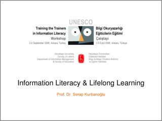 Information Literacy  Lifelong Learning