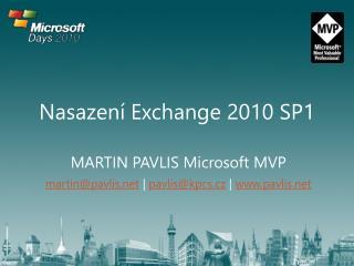 Nasazení Exchange 2010 SP1