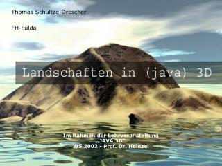 Thomas Schultze-Drescher FH-Fulda