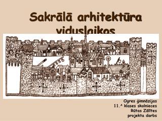 Sakrālā arhitektūra viduslaikos