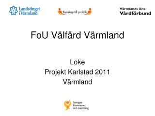 FoU Välfärd Värmland