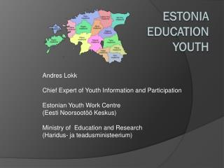 Estonia Education youth