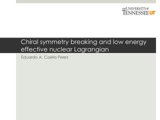 Chiral  symmetry breaking and low energy effective nuclear  Lagrangian
