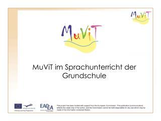 MuViT im Sprachunterricht der Grundschule