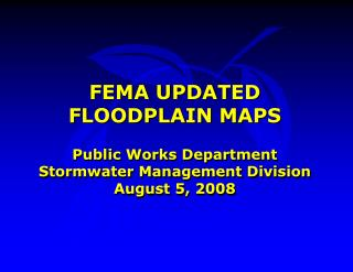 FEMA UPDATED