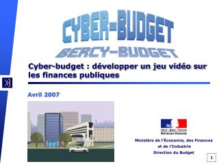 Cyber-budget : développer un jeu vidéo sur les finances publiques