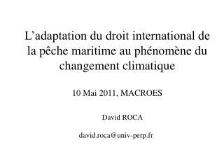 David ROCA david.roca@univ-perp.fr