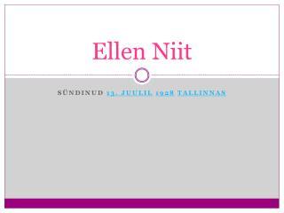 Ellen Niit