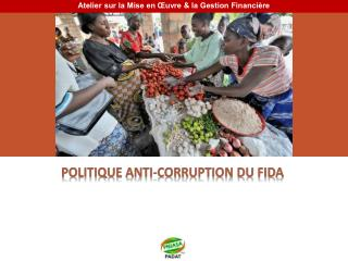 POLITIQUE ANTI-CORRUPTION DU FIDA