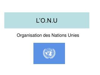 L�O.N.U