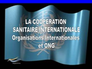LA COOPERATION  SANITAIRE INTERNATIONALE Organisations Internationales  et ONG