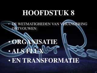 HOOFDSTUK 8
