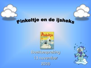 Boekbespreking 13 november 2008