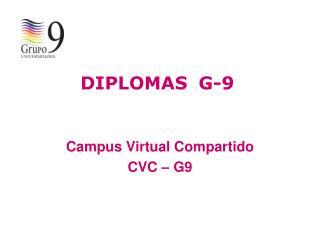 DIPLOMAS G-9