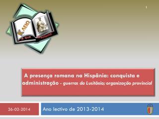 Ano lectivo de 2013-2014