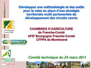 Comité technique du 24 mars 2011