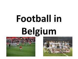 Football in Belgium