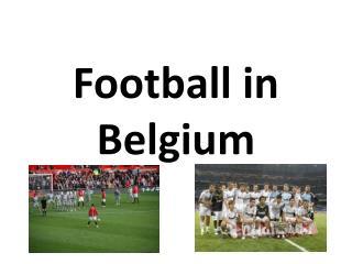 Football in Belgium