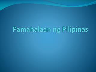 Pamahalaan ng Pilipinas
