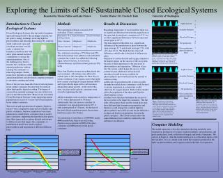 Exploring the Limits of Self-Sustainable Closed Ecological Systems