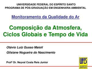 Otávio Luiz Gusso Maioli  Gilsiane Nogueira do Nascimento  Prof o  Dr. Neyval Costa Reis Junior
