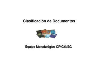 Clasificaci�n de Documentos