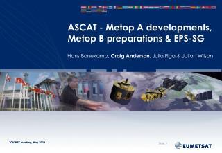 ASCAT - Metop A developments, Metop B preparations & EPS-SG