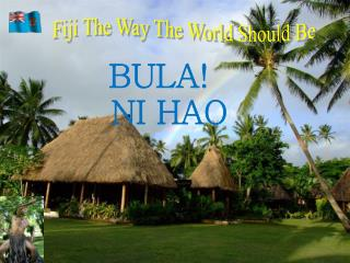 Fiji The Way The World Should Be
