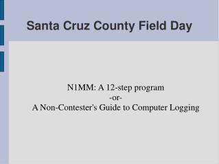 Santa Cruz County Field Day