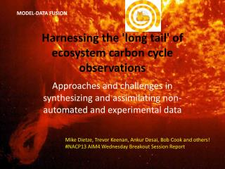 Harnessing the 'long tail' of ecosystem carbon cycle observations