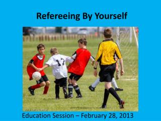Refereeing By Yourself