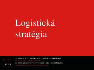 Logistická stratégia